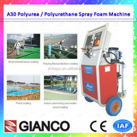 2016 Jinke PU Spray/Injection Machine CE Certification Polyurethane Binder Rubber Granules