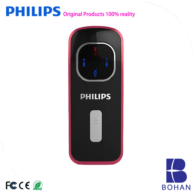 PHILIPS 8GB MP3 Player with Built in Speaker Download Free Mp3 Song Player With USB