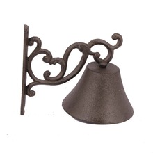 Unique design handmade metal art and crafts small door hanging calling bell