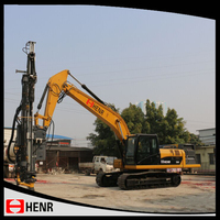 Excellent mining/quarrying/rock blasting hydraulic power earth drill