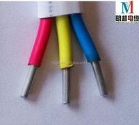 colored electrical wire flat cable with good price electric wire