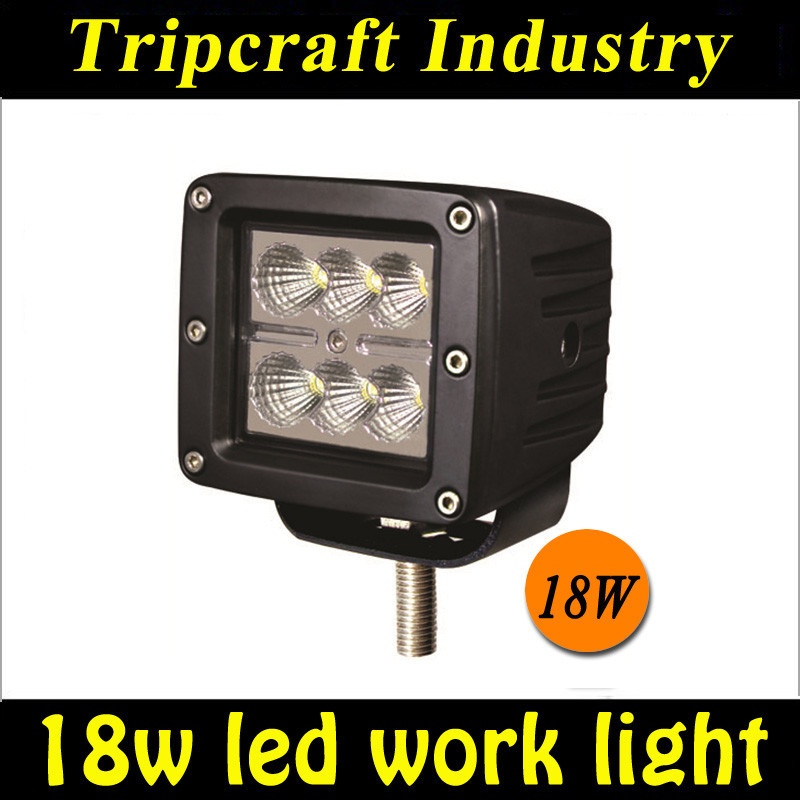 Promotion price 4x4 led work light Tractor Offroad worklight 18w
