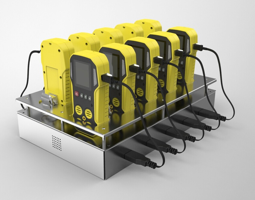 Charging Station for Portable Gas Detecotor