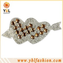 shining low lead wedding manta strass very cheap