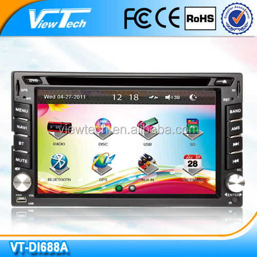 Hot sale! 6.2-inch car auto radio with gps for nissan lafesta