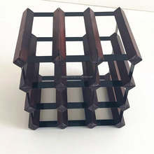 16 Bottle Wine Rack/Wooden Wine Bar Holder/Homex_FSC/BSCI Factory
