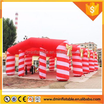 20*15m big Christmas style inflatable tent for event or exhibition