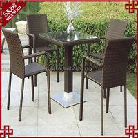 S&D 2016 Discount PE bar stools garden stools outdoor table stools set