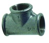 Hot Galvanized Malleable Iron Pipe fitting Tee - 3""
