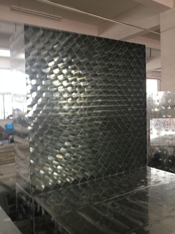 HVAC Systems 1.1m*1m Galvanized Sheet Metal Ventilation Duct