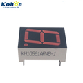 Black face red color 1 digit 0.56inch common anode LED seven segment display