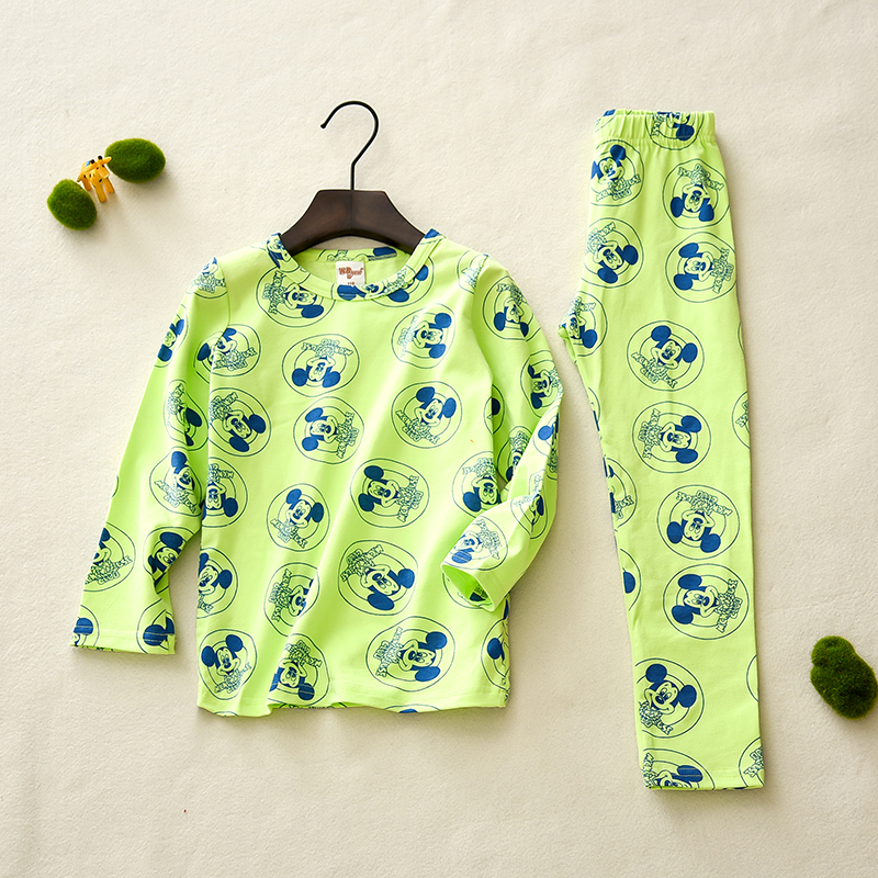 factory direct baby boy girl autumn clothes boutique clothing sets kids long johns thermal underwear for children