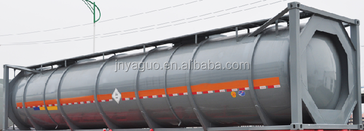 CIMC ISO new 40ft Bitumen Tank Container for sale in Africa