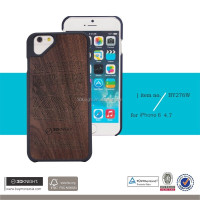2016 New arrival Slim Carved Wood Armor Phone Case for iphone 6,back cover for iphone case,for iphone 6 case