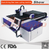 AZ-3015FH 500W manual sheet metal cutting machine mini laser cutting machine metal sheet metal cutting and bending machine