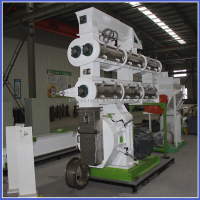 China Aqua Fodder Making Machine Manufacturer-Fish/Shrimp/Clab Feed Pellet Mill Machine with Lowest Price