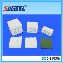 Supply dye gauze sponge with sterile or non sterile packing