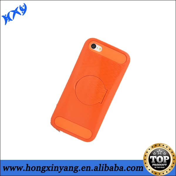 pc Electroplate metal protective case for iphone 5c with mirror