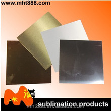 Sublimation blanks aluminum sheets 0.5mm mirror gold sublimation metal sheets