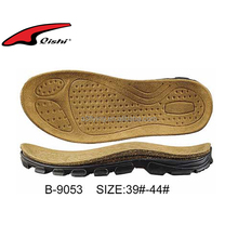 Soft Sandal cork shoe soles new design shoe sole for kids shoes made