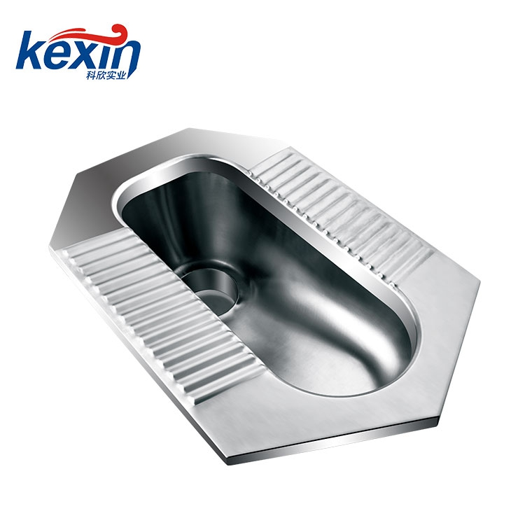 Stainless Steel WC Pan (Heavy Duty WC Pan, SS Squat Pan)