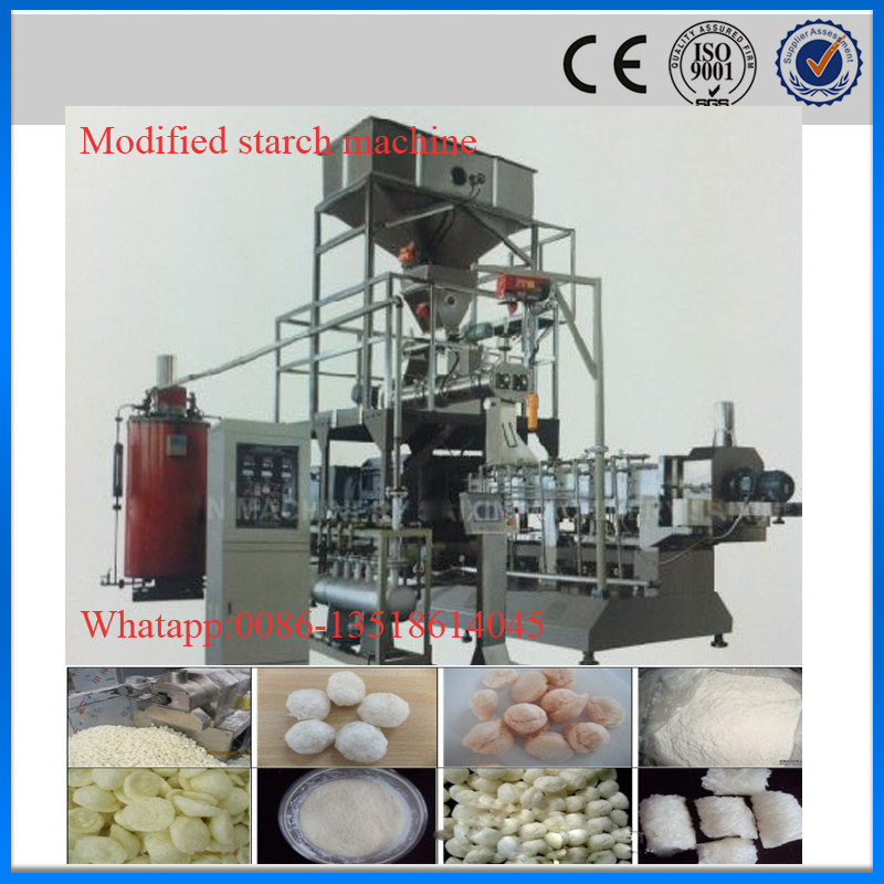 modified corn starch making machine equipment production plant