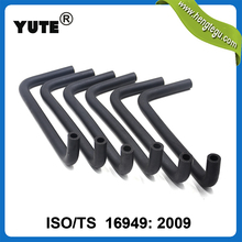 YUTE auto engine parts epdm water heater hoses with ts 16949 certificate