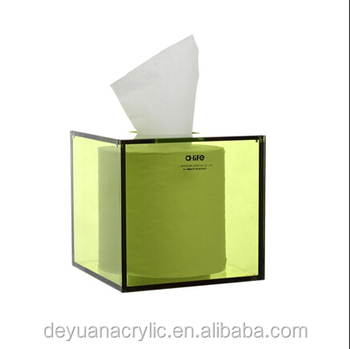 High quality manufacture cheap and promotion pop acrylic napkin holder