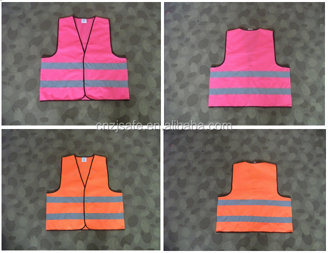 EN1150 Kids Roadway Vest Children Security Clothing