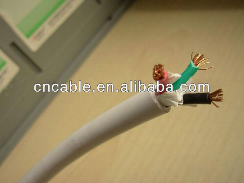 H05VVH2-F cable,power flat cable,PVC flexible cable