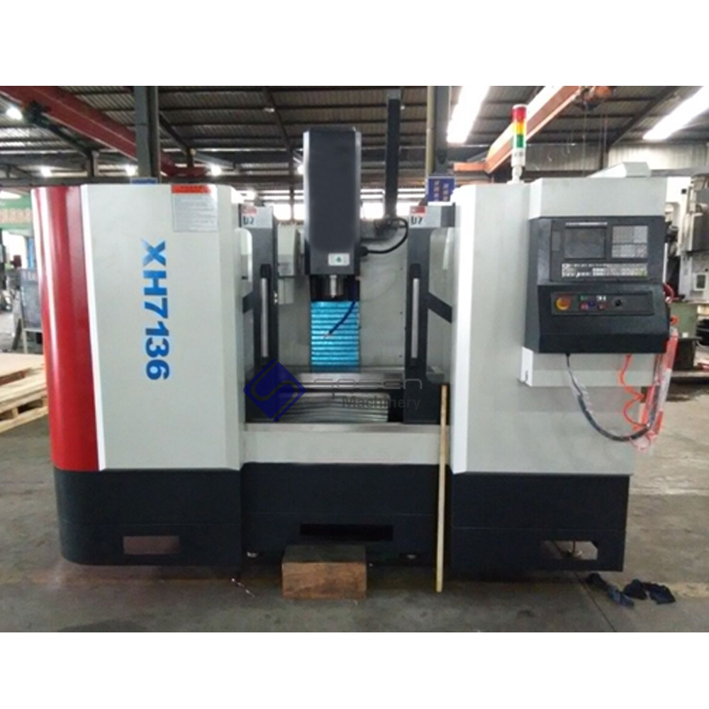 XH7136 CNC VMC milling machine center with automatic tool changer