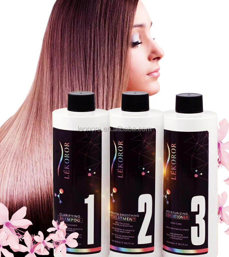 professional salon use gold keratin hair treatment with collagen maxi protein