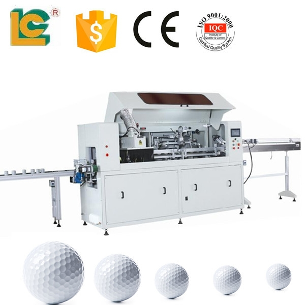 China suppliers !High precision fully automatic silk screen printing machine for golf balls