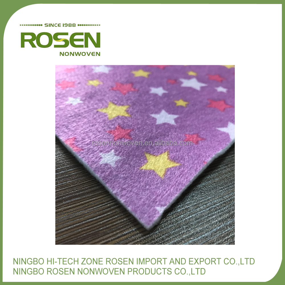 RS NONWOVEN tear resistant comfortable polyester needle felt with good quality