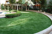 Grass artificial landscaping turf synthetic turf with non infilling