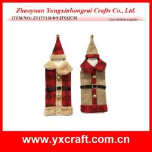 Christmas wine bag (ZY17Y138-8-9 27X12CM) bottle cover christmas day gift