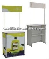 portable high quality acrylic promotion table