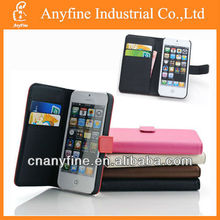 2013 New arrival colorful flip cover leather case for Iphone5 iphone4/4s samsung galaxy s3 s4
