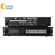 external hdmi matrix 4k hdmi video wall processor installed linsn ts802 used with led display receiving