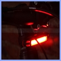 USB Rechargeable Head Light COB Bike Front Rear Tail Helmet Lamp Handlebar Frame 6 Mode lights
