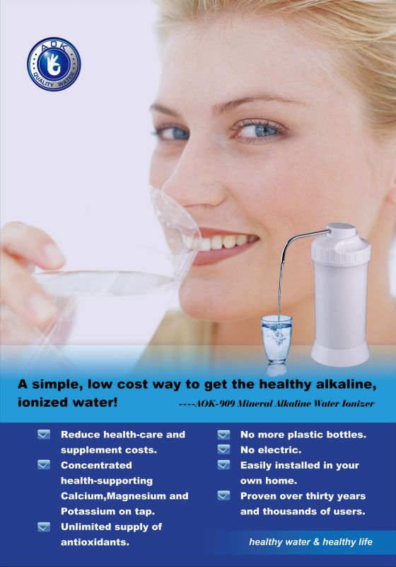 AOK Easy To Clean Wholesale Water Filters For Making 9 platinum water ionizer filter ionizer