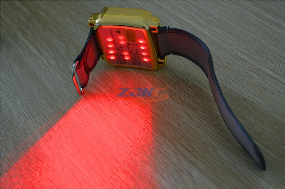 LTW7 laser therapy watch/treat high blood fat / cholesterol recovery