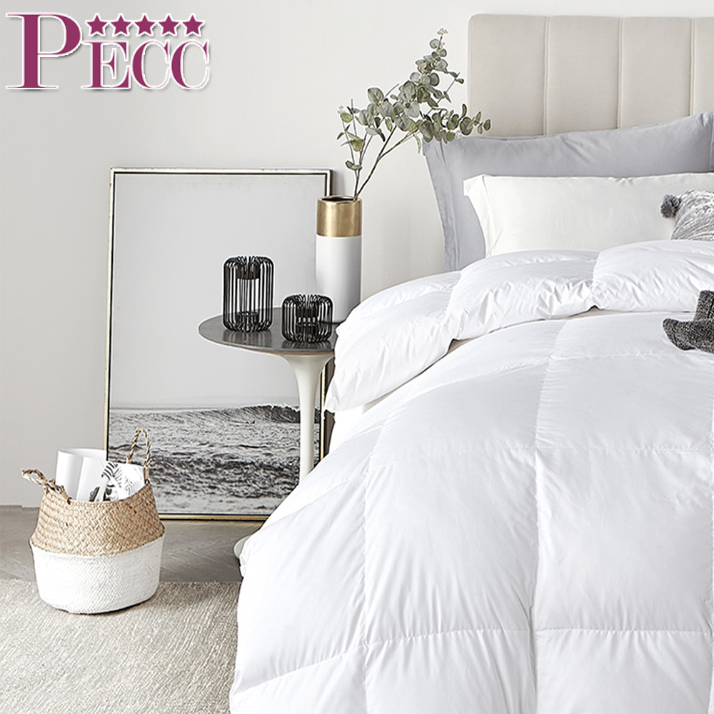 Customized Bedroom White Goose Down Comforters From China