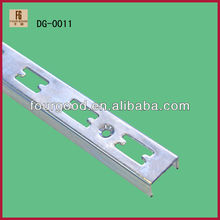 Metal slot channel/single slot wall upright post&slotted strippings(DG-0011)