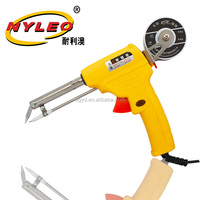 high quality hot sell Plastic soldering gun iron, yellow