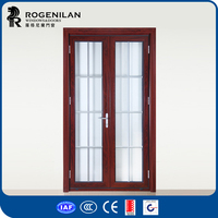 ROGENILAN aluminum alloy doors and windows name plates for office hinged mirror doors