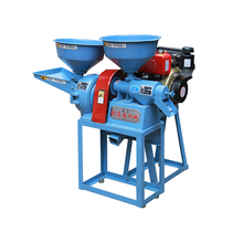 China supplier wholesale low price mini multi-function rice mill machine combined with pulverizer