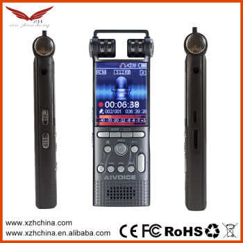 electronic detective voice recorder 8GB PCM liner recorder for professional users