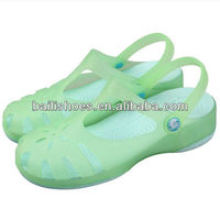 2013 Alibaba offer hot selling EVA garden sandals latest fashion design summer sandals for women