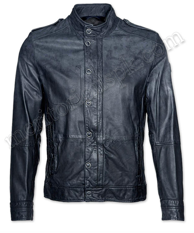 Men Colorful Stylish Fashion Leather Jackets